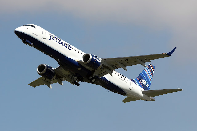 JetBlue Airways With Embraer 190 Rendezblue