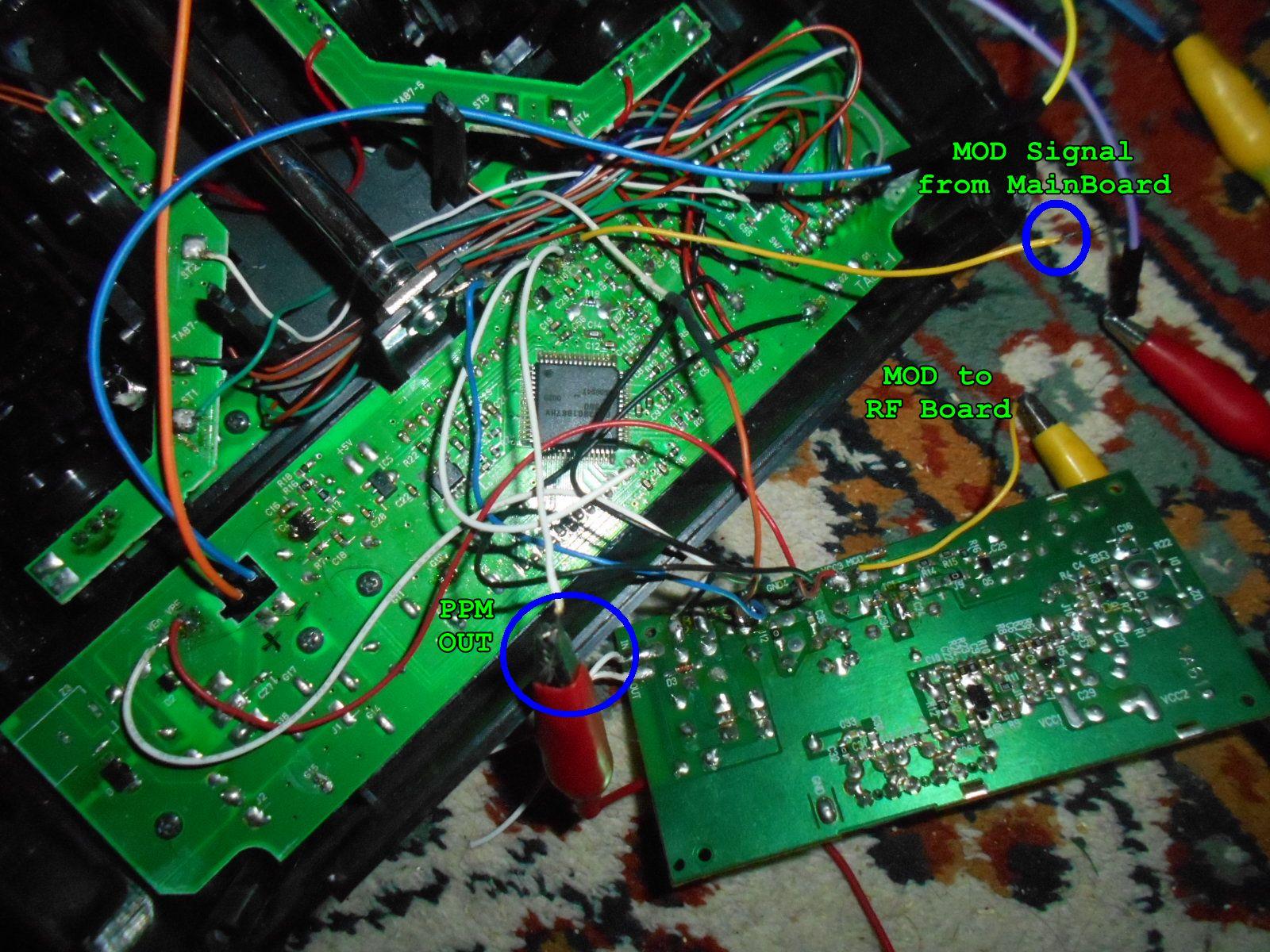 medium resolution of futaba t6exhp wires