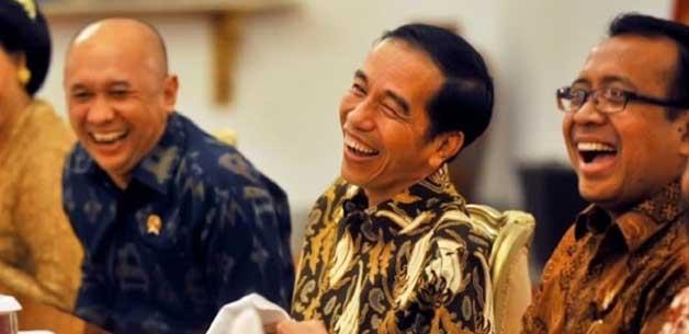 Jokowi: Masa Wajah Kayak Gini Kok Dibilang Diktator