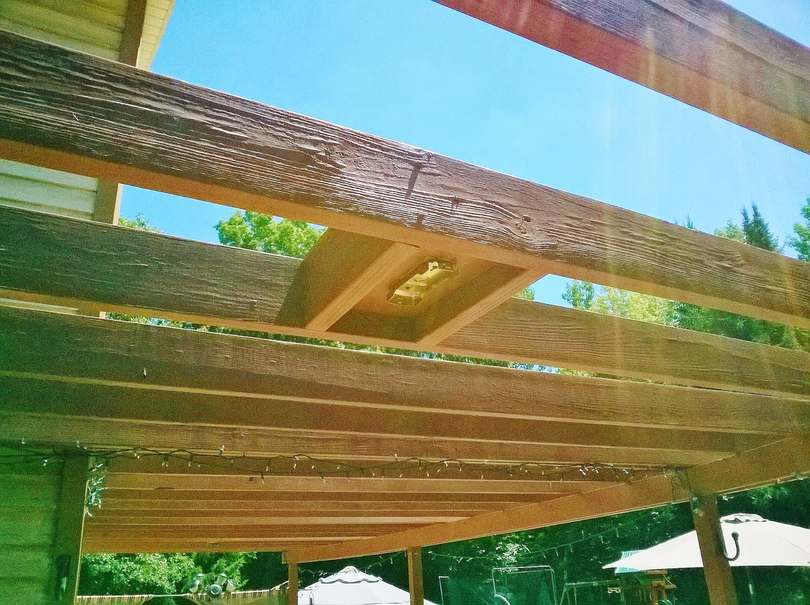 How To Install Ceiling Fan Under Pergola Www