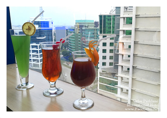 Cebu Parklane International Hotel Tea-based Cocktails