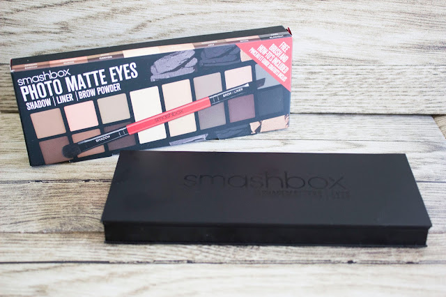 Palette photo matte eyes Smashbox