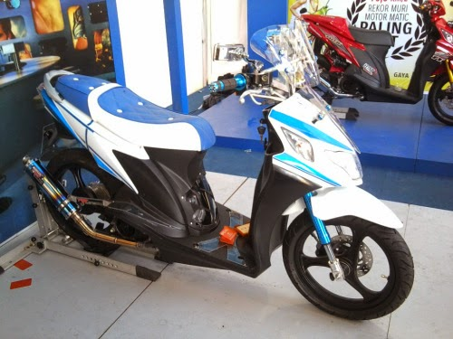 Suzuki Nex Modif Terberu