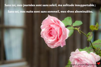 beau message d'amour 2018