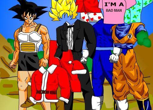 Juego De Vestir A Goku De Dragon Ball Juegos Dragon Ball Z