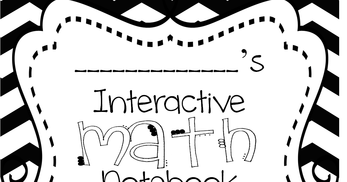First Grade Wow: Interactive Math Notebook