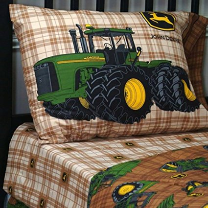Tractor Theme Bedding for Kids From Baby's Crib to Toddler ...