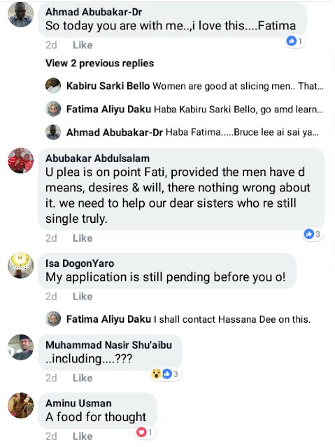 """Dear Men, please marry more than one wife if you have the means. Too many single ladies around"" - Nigerian woman pleads"
