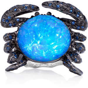 Crystal Haze Crab Ring Stephen Webster Ring