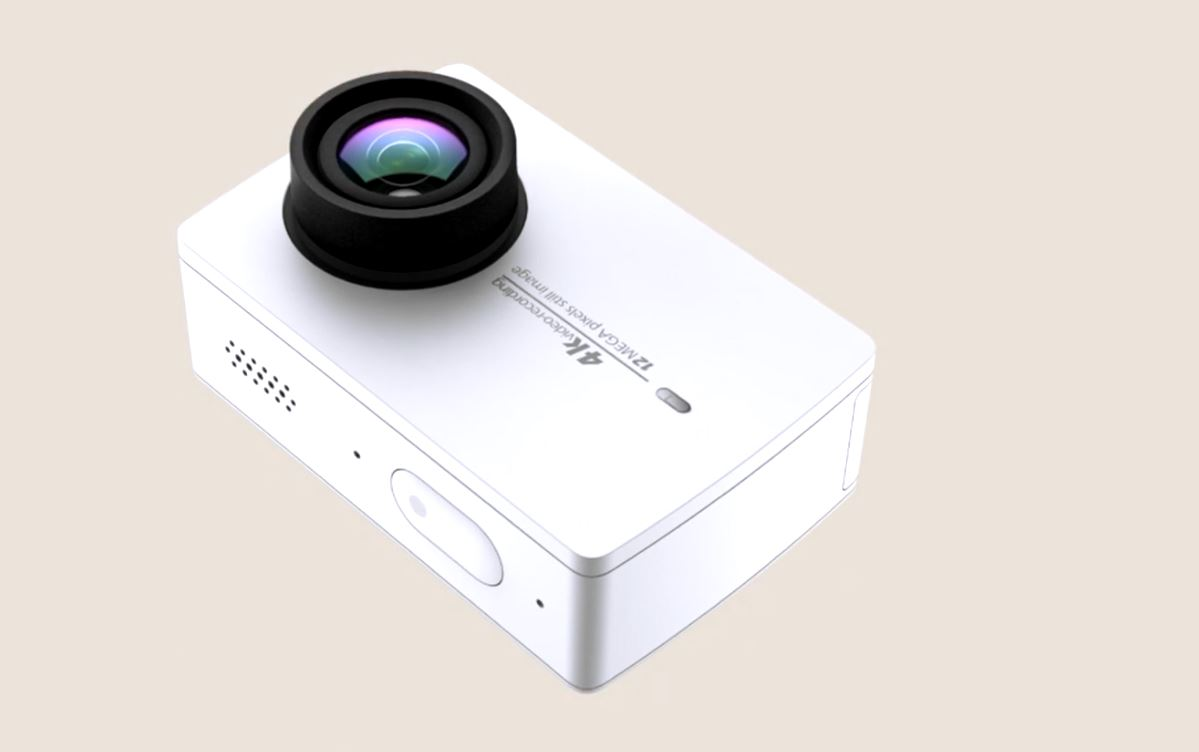 Xiaomi Yi 4k Action Camera 2 Details Surfaced Online