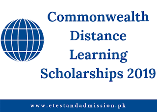 Commonwealth Distance Learning Scholarships 2019