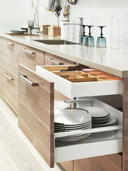 Lemari dapur minimalis