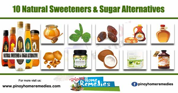 10 Natural Sweeteners & Sugar Alternatives