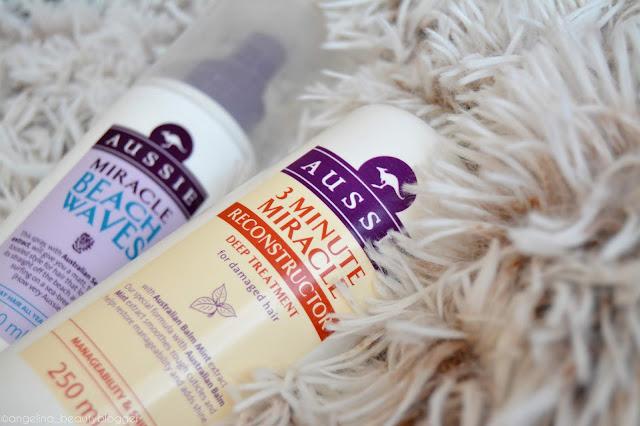 Moje zkušenost s vlasovými produkty Aussie