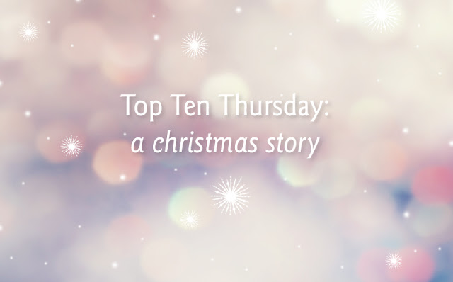 Top Ten Thursday: a christmas story