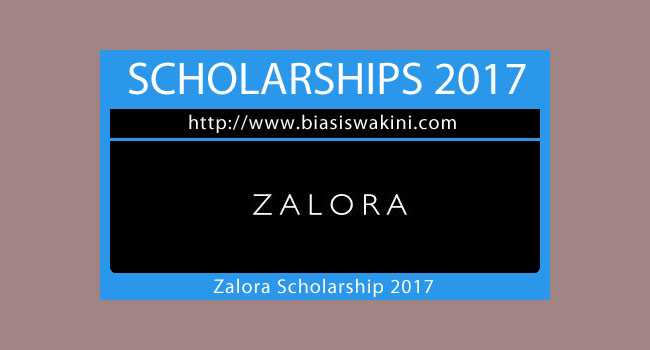 Zalora Scholarship 2017