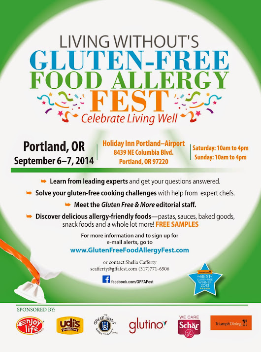Living Without's Gluten Free Food Allergy Fest