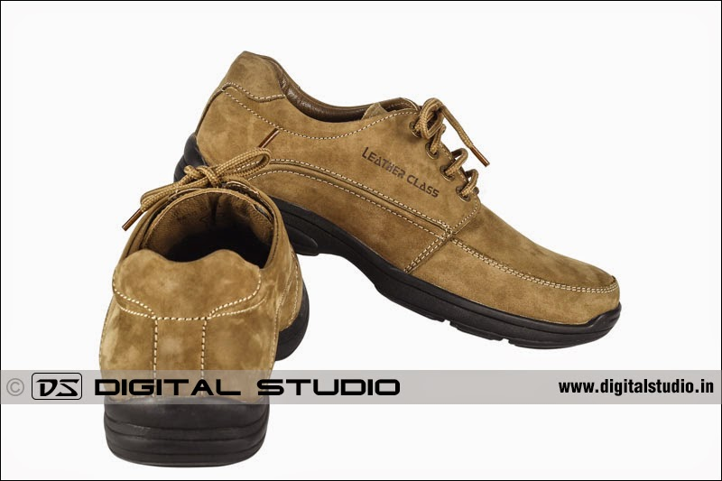 typical photograph of shoe for website