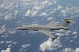 Italia recibe de Israel su primer avión de alerta temprana.