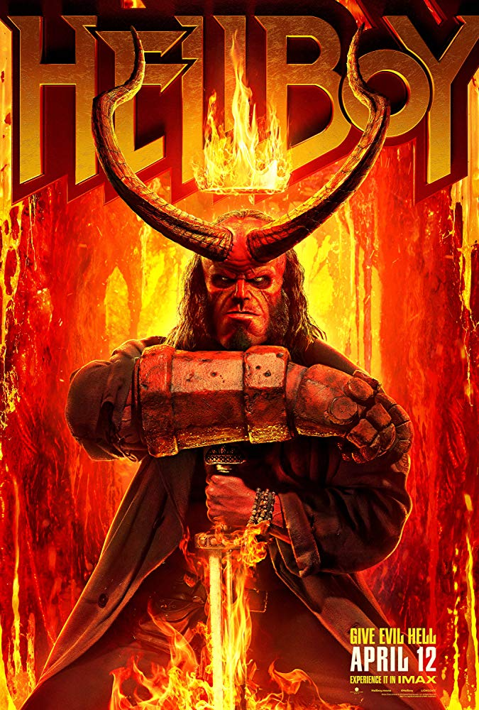 Hellboy, The Blood Queen, Movie Review by Rawlins, Action, Fantasy, Milla Jovovich Rawlins GLAM