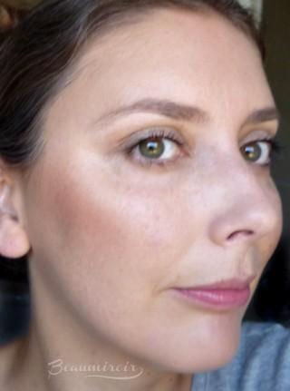 Wearing theBalm Balm Desert Bronzer/Blush: motd fotd full face