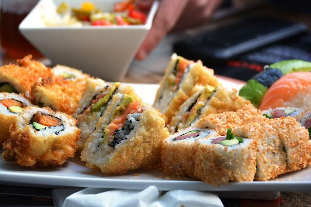 מגש סושי פרנג'ליקו frangelico sushi tray