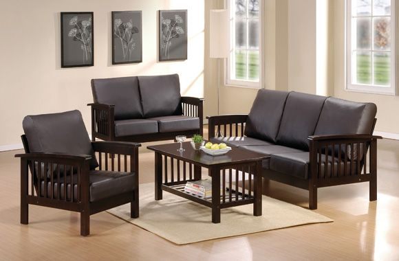Wooden Sofa Sets For Living Room All, Small Wooden Sofa Set Designs