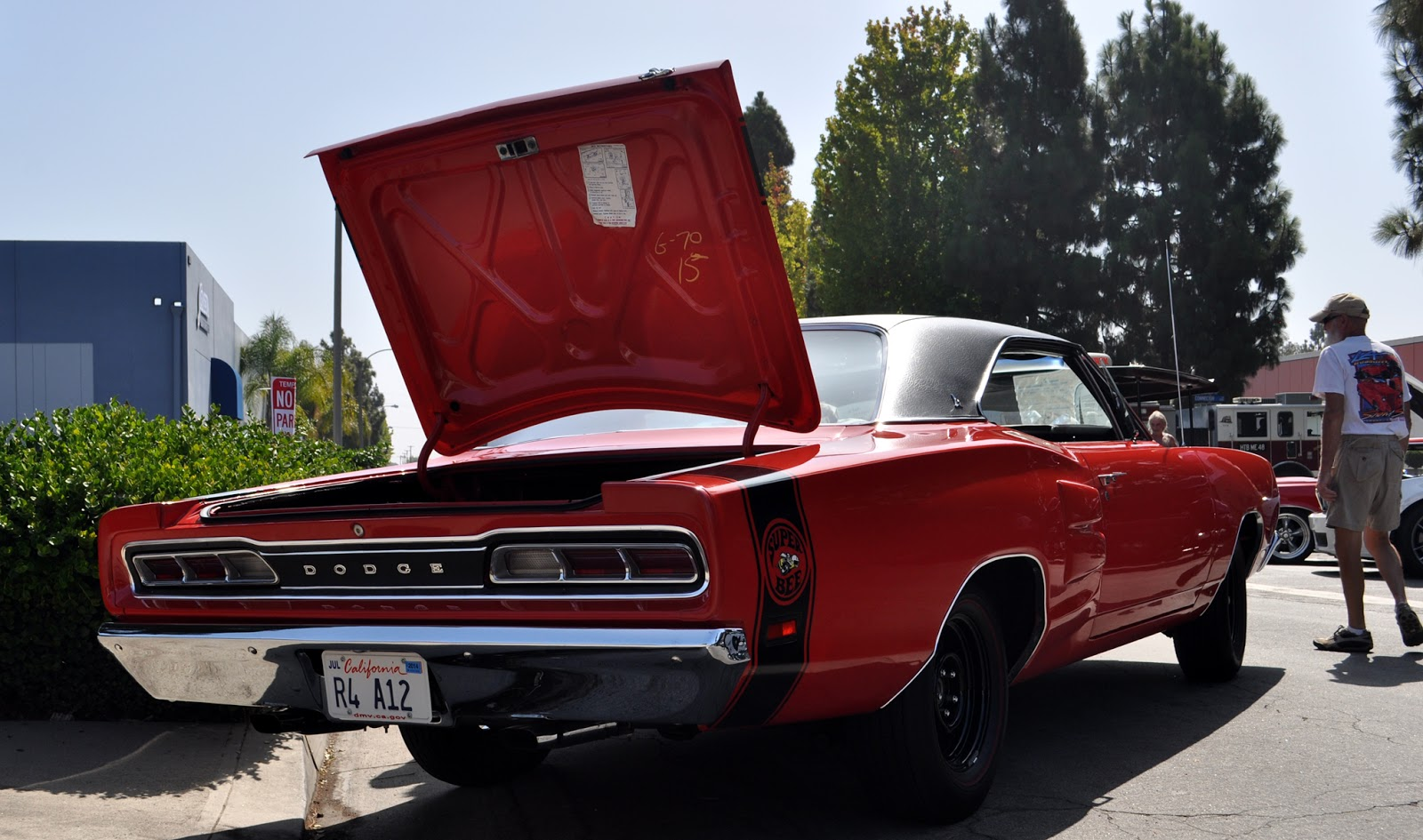 a 440 six pack Super Bee, commonly known as an A12, was at