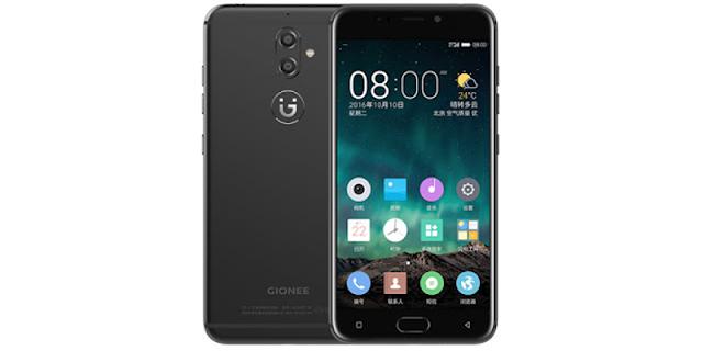 Gionee G9 ra mắt, camera kép, cảm biến vân tay, giá 364 USD