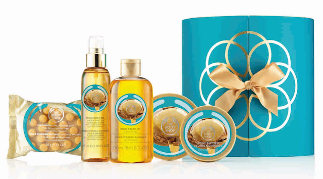 The Body Shop_Wild Argan Oil Premium Collection, Rs 4965