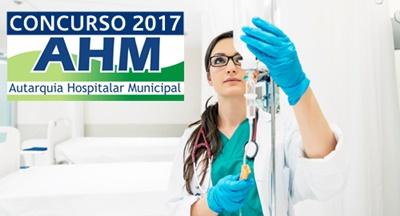 Apostila concurso AHM SP 2017