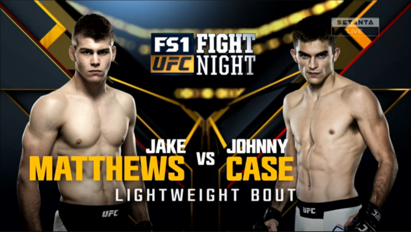 Todas as Lutas Full Fight Jake Matthews vs Johnny Case Full Fight