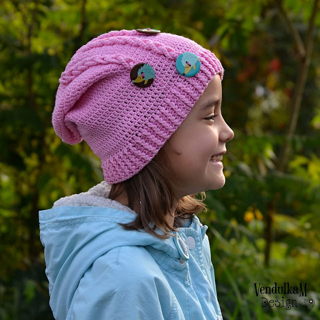Crochet hat pattern by VendulkaM