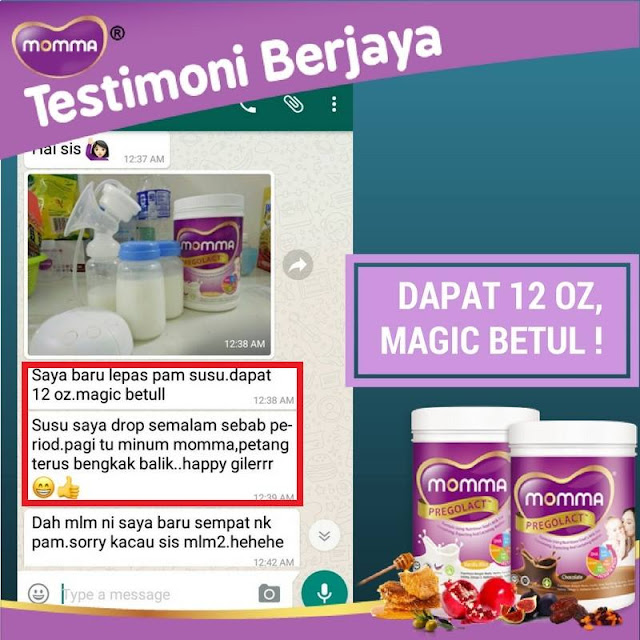MOMMA® Pregolact™: Milk Booster & Susu Untuk Ibu Mengandung