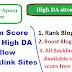 Spam Score Free High DA Dofollow Backlink Sites List For Reduce Spam Score ~ w3survey
