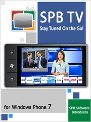 SPB TV for Windows Phone 7 released