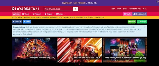 Cara Download Film Terbaru Setiap Saat di Situs Dunia 21
