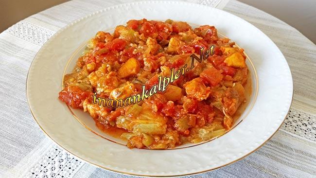 Tavuklu Geleli Kebabı Tarifi - www.inanankalpler.net