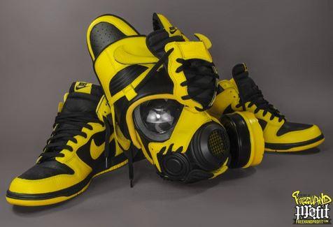 """sports shoes 16c52 7defc THE SNEAKER ADDICT: Nike/Air Jordan """"Wu-Tang"""" Sneaker Mask's ..."""