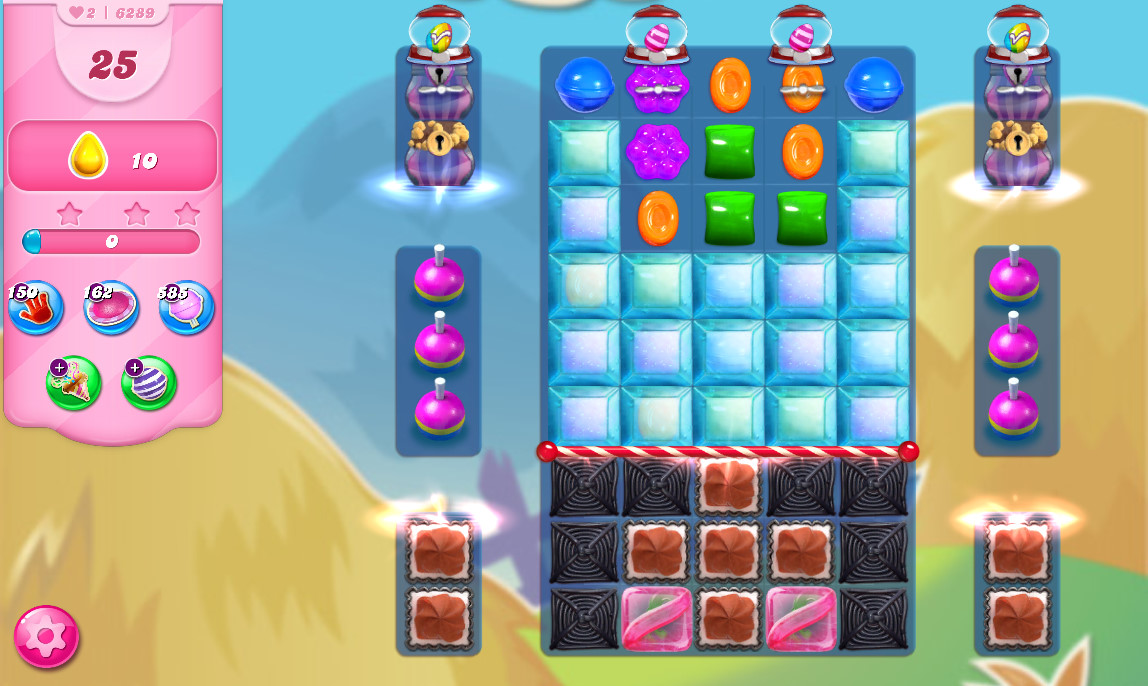 Candy Crush Saga level 6289