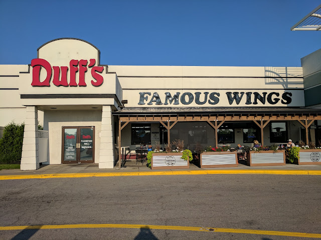 Duff's Famous Chicken Wings in Buffalo, New York