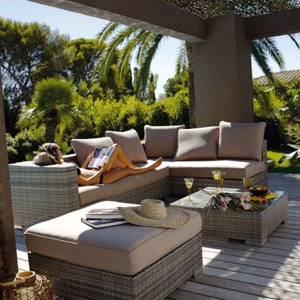 Boiserie c estate spazi esterni per sognare night day - Salons de jardin jardiland ...