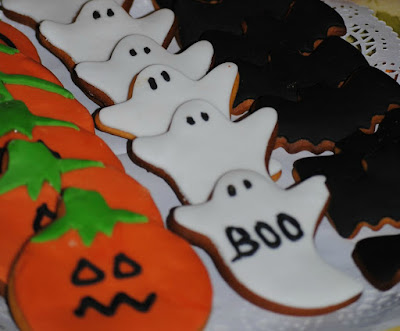 Galletas fondant halloween
