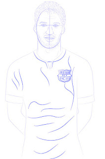 Langkah 11. Super Simpel Menggambar Luis Suárez