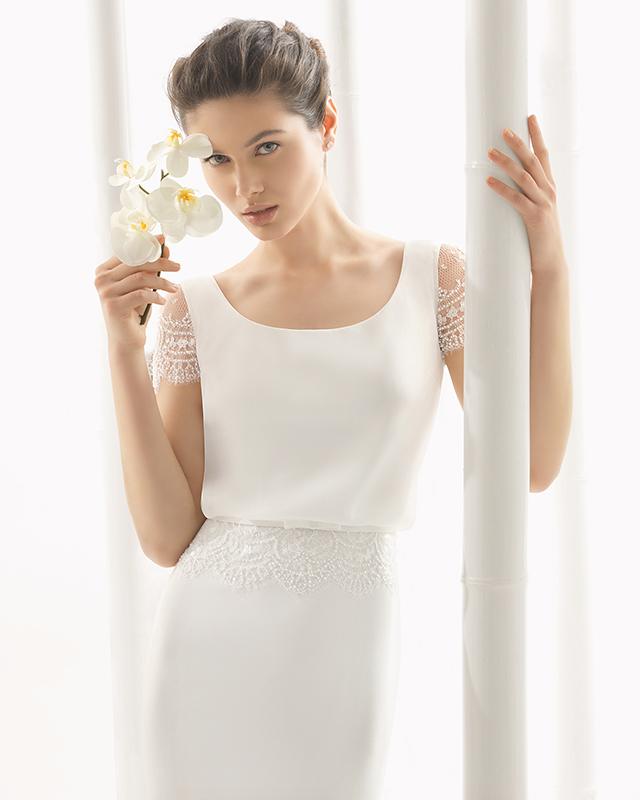 Que tipo de escote escoger para un vestido de novia según tu silueta.