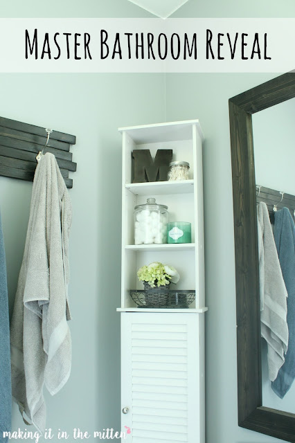Master Bathroom Reveal: Making It In The Mitten: Master Bathroom Reveal