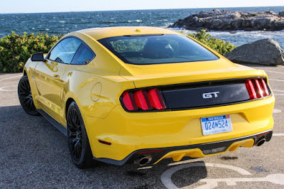 Ford Mustang GT rear led tail light Hd image