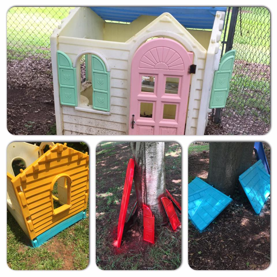 Little Tikes Playhouse Makeover Doc Clinic Edition