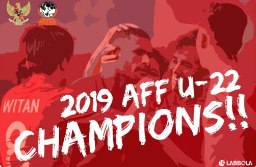 Indonesia Juara Piala AFF U-22 2019