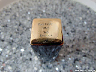 Review: Estée Lauder Lippenstift - Pure Color Envy - 340 Envious